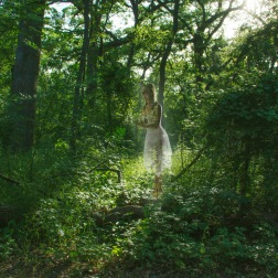 Stewart, Lauren. Dryad of the Woodland. 2014. Archival Pigment Print.