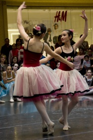 Texas Ballet Theater Dallas School, Northpark Mall, 2012