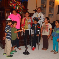 Hanukkah in Kingston, Jamaica. 2013. Web. 18 Dec. 2014.