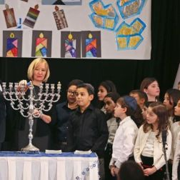 Muschi, Christinne. Canada's Prime Minister Stephen Harper and his wife Laureen participate in a candle lighting ceremony to mark the start of Hanukkah in Montreal, Quebec December 16, 2014. 2014. Web. 19 Dec. 2014.