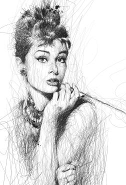 Low, Vince. Audrey Hepburn. 2013. Web. 30 Jan. 2015.