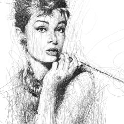 Low, Vince. Audrey Hepburn. 2013. Web. 30 Jan. 2015.