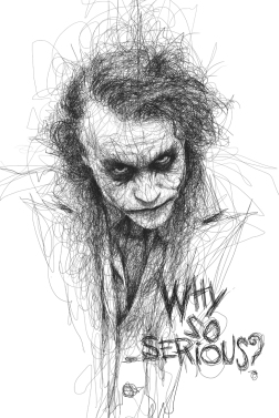 Low, Vince. Heath Ledger as The Joker. 2013. Web. 30 Jan. 2015.