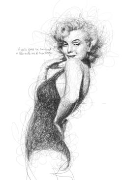 Low, Vince. Marilyn Monroe. 2013. Web. 30 Jan. 2015.