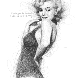 Low, Vince. Marilyn Monroe. 2013. Web. 30 Jan. 2015.