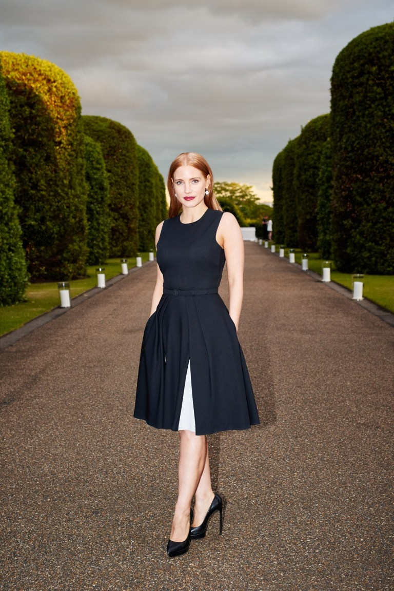 Jessica Chastain. 2015. Web. 27 June 2015. http://www.vogue.co.uk/spy/celebrity-photos/2015/06/26/ralph-lauren-and-vogue-wimbledon-summer-cocktail-party/gallery/1426938