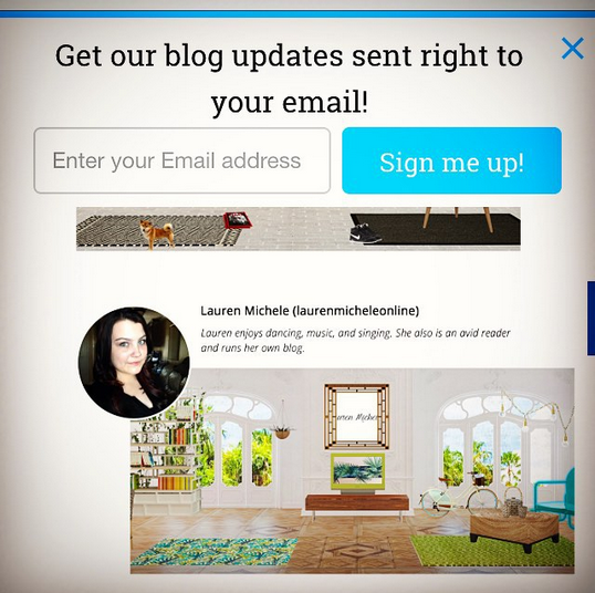 Lauren Michele, Brand Ambassador for MyWebRoom