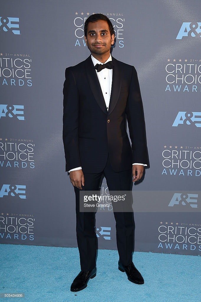 Granitz, Steve. Aziz Ansari. 2016. Web. 18 Jan. 2016. http://www.gettyimages.com/detail/news-photo/actor-aziz-ansari-attends-the-21st-annual-critics-choice-news-photo/505434936.