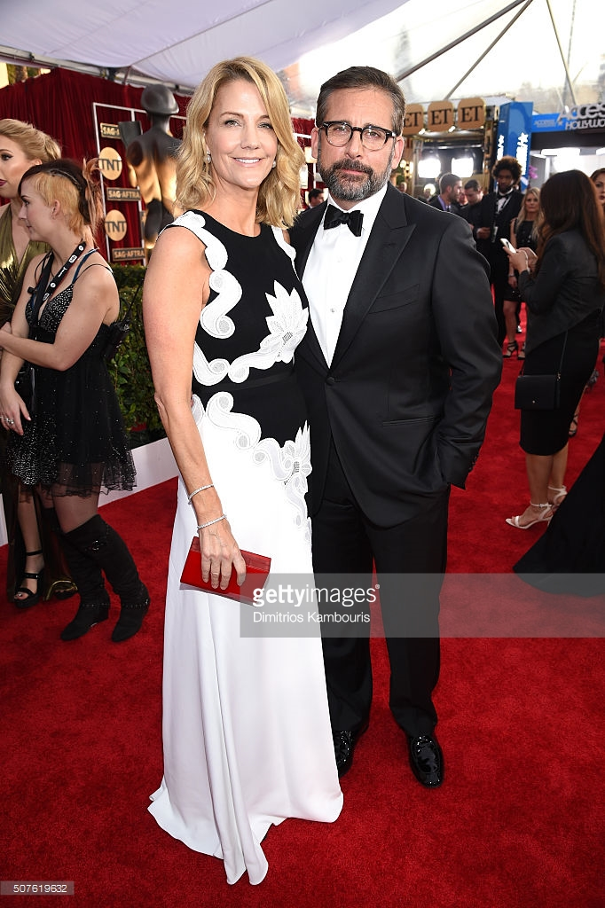Kambouris, Dimitrios. Steve & Nancy Carell. 2016. Web. 31 Jan. 2016. http://www.gettyimages.com/detail/news-photo/actors-nancy-carell-and-steve-carell-attend-the-22nd-annual-news-photo/507619632.