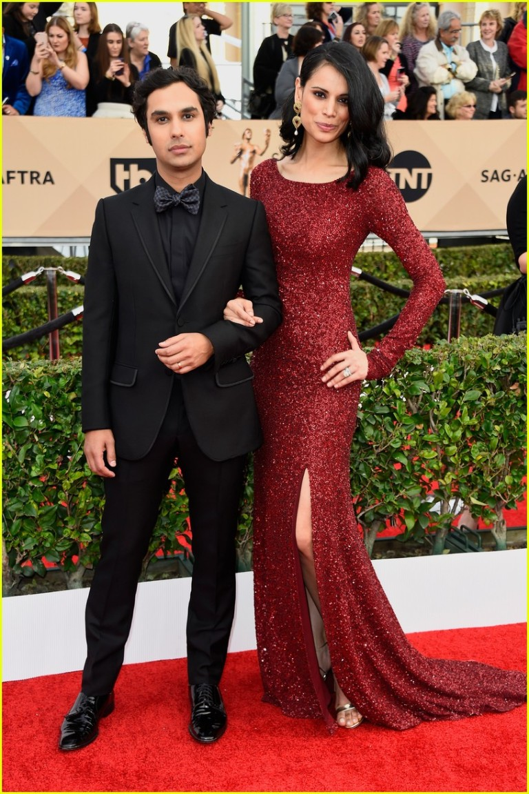 Kunal Nayyar & Neha Kapur. 2016. Web. 31 Jan. 2016. http://www.justjared.com/photo-gallery/3564633/big-bang-cast-sag-2016-04/.