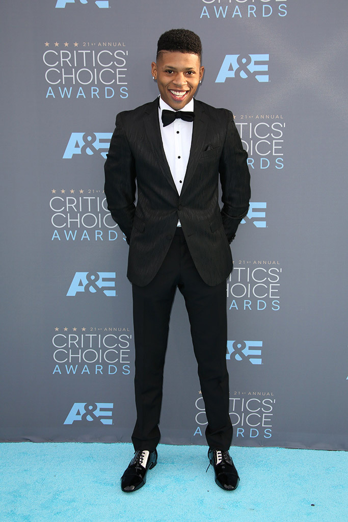 REX. Bryshere Gray. 2016. Web. 18 Jan. 2016. http://footwearnews.com/2016/fashion/celebrity-style/critics-choice-awards-2016-red-carpet-shoes-184959/.