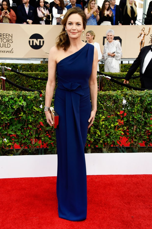 Harrison, Frazer. Diane Lane in Angel Sanchez. 2016. Web. 30 Jan. 2016. http://www.usmagazine.com/celebrity-style/pictures/sag-awards-2016-red-carpet-fashion-what-the-stars-wore-w162344/diane-lane-w162992.