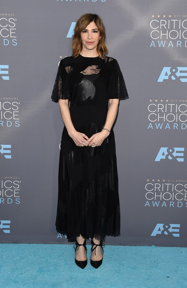 Merritt, Jason. Carrie Brownstein. 2016. Web. 18 Jan. 2016. http://www.buzzfeed.com/whitneyjefferson/style-on-the-2016-critics-choice-awards-red-carpet#.oo5nEzZLmK.