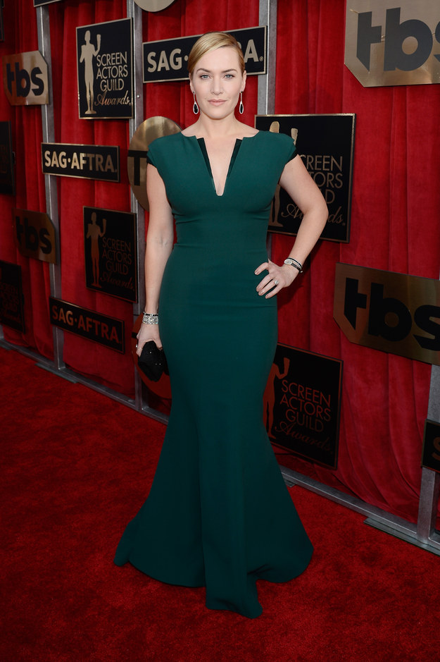 Djansezian, Kevork. Kate Winslet in Giorgio Armani. 2016. Web. 30 Jan. 2016. http://www.buzzfeed.com/whitneyjefferson/fashion-on-the-2016-sag-awards-red-carpet?utm_term=.hcvLq7G2dw#.qtE3X4Kgav.