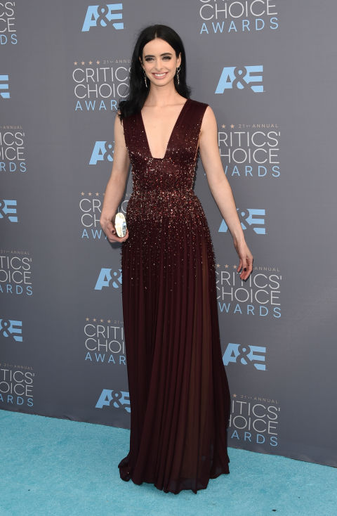 Merritt, Jason. Krysten Ritter in Zuhair Murad. 2016. Web. 18 Jan. 2016. http://www.harpersbazaar.com/celebrity/red-carpet-dresses/g6732/the-best-dressed-at-the-critics-choice-awards/?slide=25.