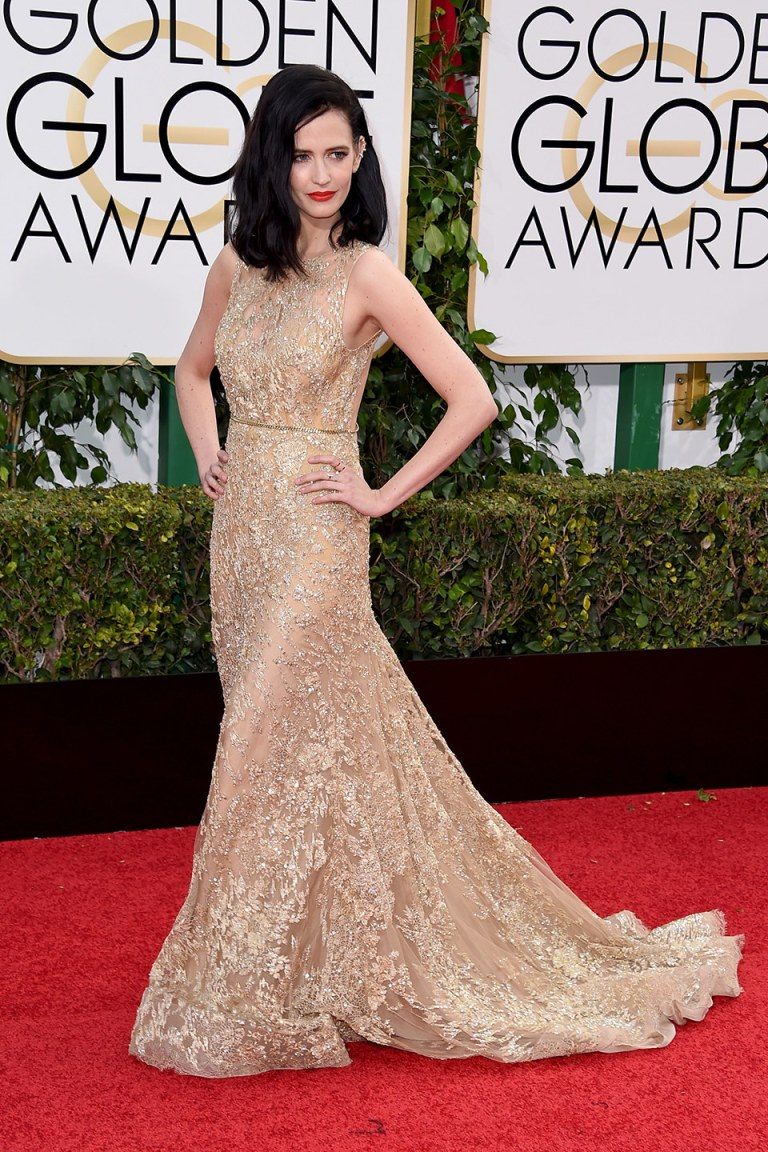 Eva Green in Elie Saab Haute Couture. 2016. Web. 11 Jan. 2016. http://www.vanityfair.com/style/photos/2016/01/golden-globes-2016-red-carpet-fashion.