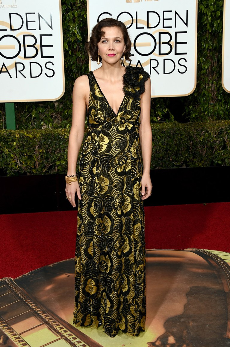 Maggie Gyllenhaal in Marc Jacobs. 2016. Web. 11 Jan. 2016. http://www.vanityfair.com/style/photos/2016/01/golden-globes-2016-red-carpet-fashion.