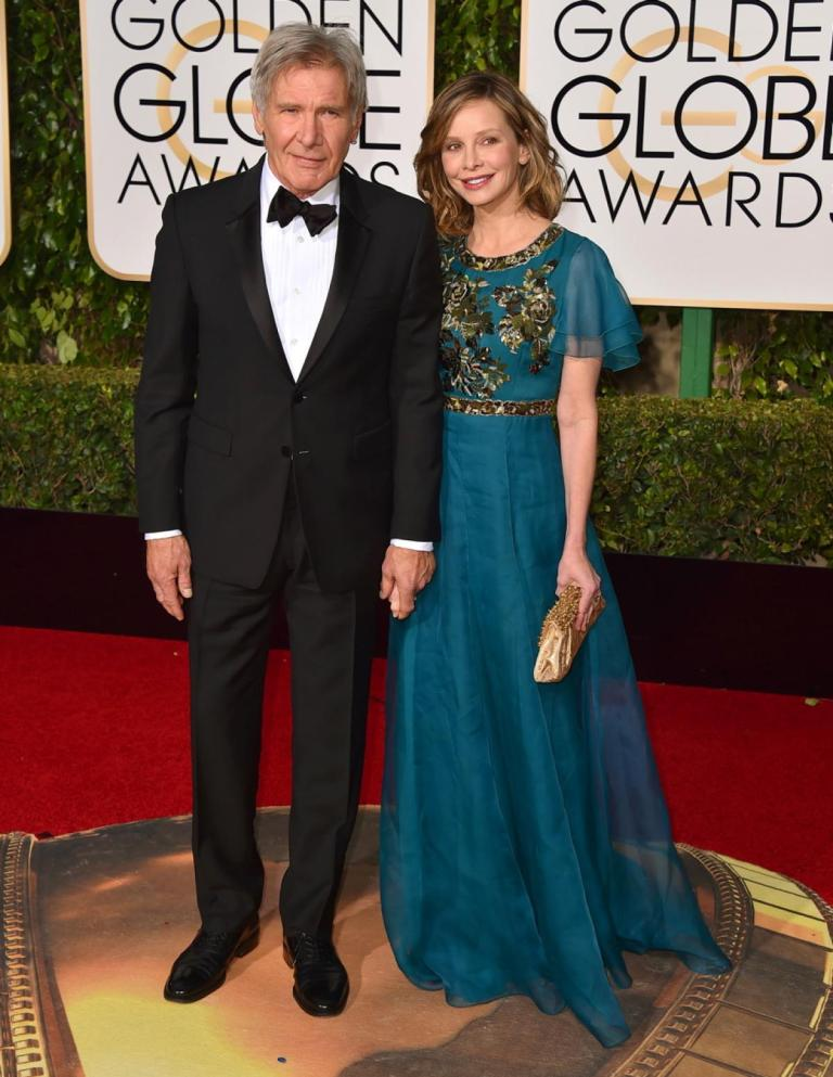 Strauss, Jordan. Harrison Ford and Calista Flockhart in Andrew Gn. 2016. Web. 11 Jan. 2016. http://www.nydailynews.com/entertainment/golden-globes-2016-best-worst-red-carpet-gallery-1.2491685?pmSlide=1.2491901.