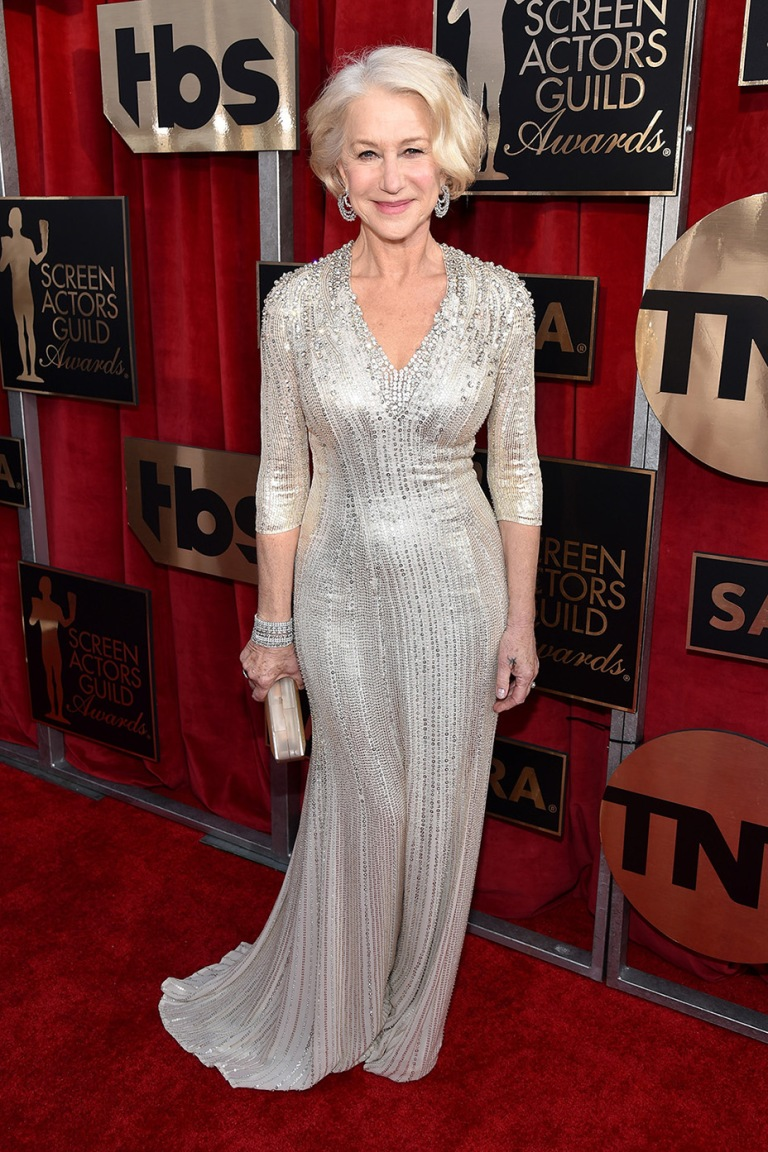 Shearer, John. Helen Mirren in Jenny Packham. 2016. Web. 30 Jan. 2016. http://www.hollywoodreporter.com/news/helen-mirrens-sag-awards-2016-860507.
