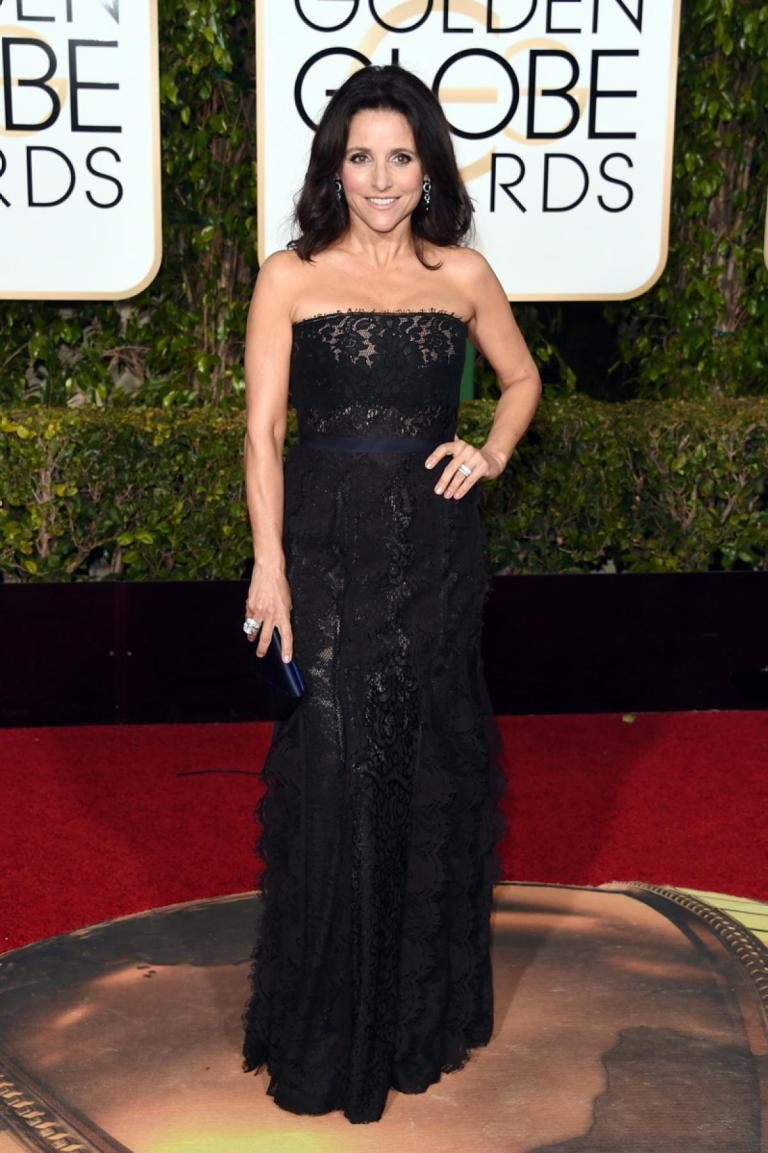 Merritt, Jason. Julia Louis-Dreyfus in Lanvin. 2016. Web. 11 Jan. 2016. http://www.nydailynews.com/entertainment/golden-globes-2016-best-worst-red-carpet-gallery-1.2491685?pmSlide=1.2491940.