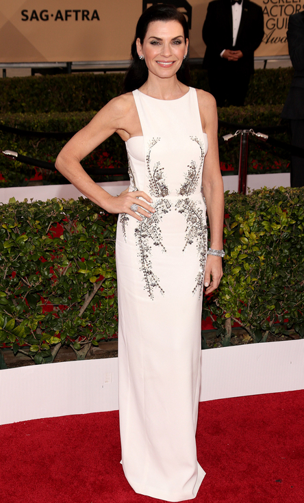 Williamson, Todd. Julianne Margulies in Antonio Berardi. 2016. Web. 30 Jan. 2016. http://www.peoplestylewatch.com/sag-awards-2016-best-dressed#2016/01/30/photo/julianna-margulies-best-dressed-sag-gallery-3187121.