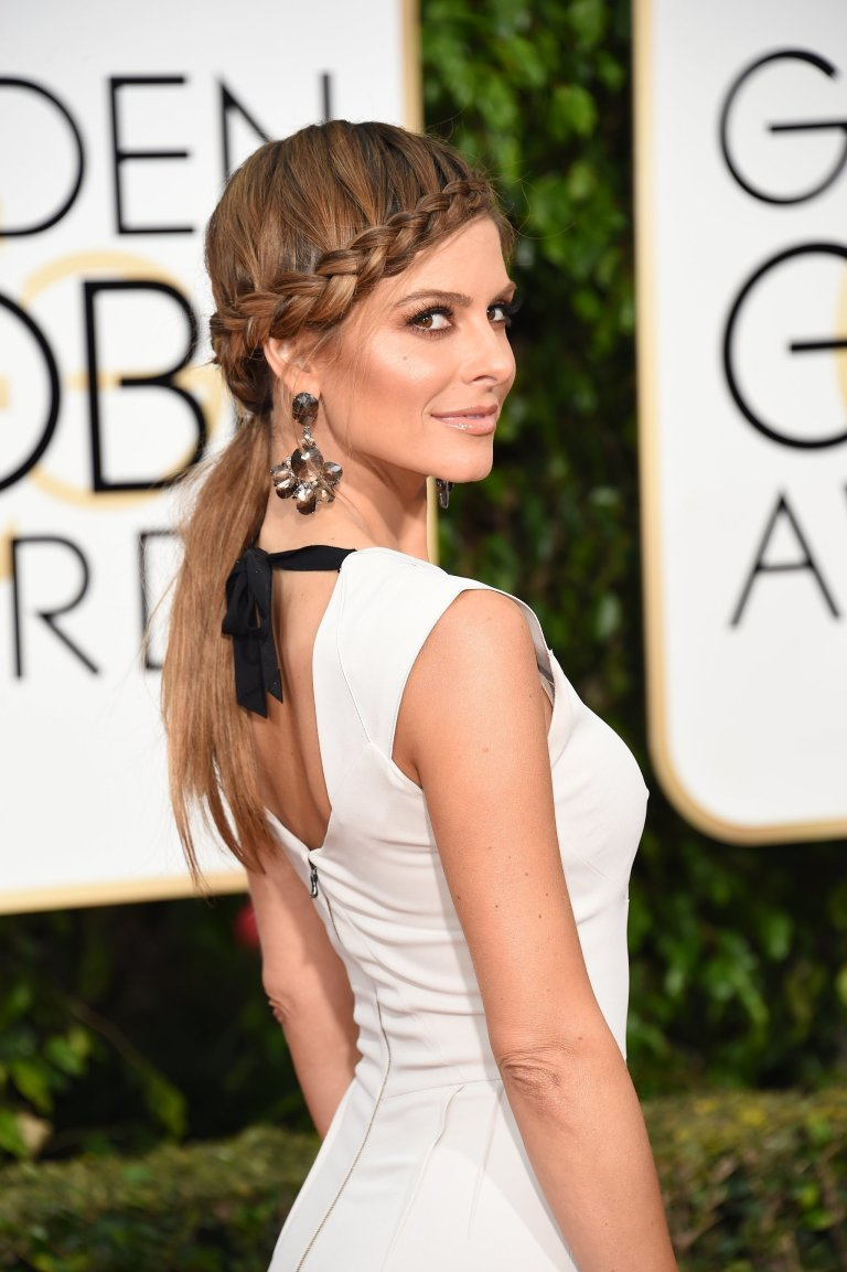 Macon, Valerie. Maria Menounos. 2016. Web. 11 Jan. 2016. http://www.popsugar.com.au/beauty/photo-gallery/39740713/image/39740706/Maria-Menounos-2016-Golden-Globes.