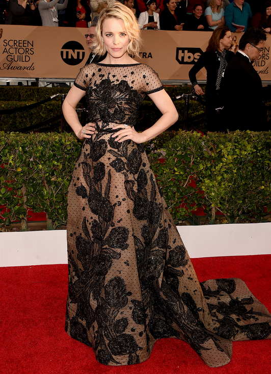 Merritt, Jason. Rachel McAdams in Elie Saab. 2016. Web. 30 Jan. 2016. http://www.peoplestylewatch.com/sag-awards-2016-best-dressed#2016/01/30/photo/rachel-mcadams-best-dressed-sag-gallery-3187116.