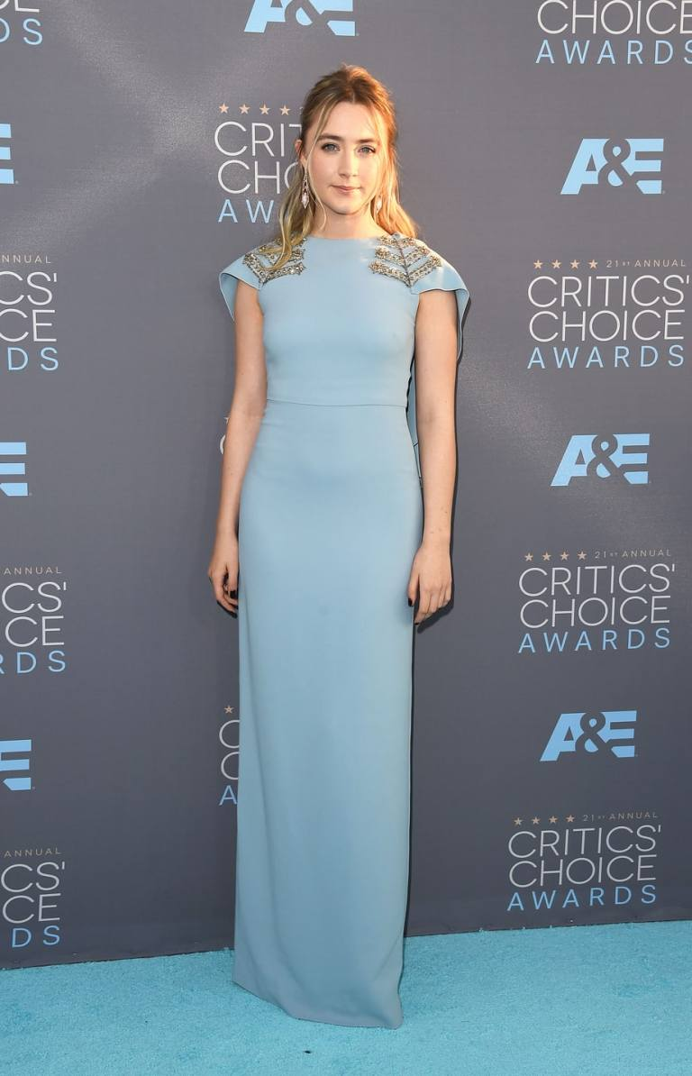 Merritt, Jason. Saoirse Ronan in Antonio Berardi. 2016. Web. 18 Jan. 2016. http://www.usmagazine.com/celebrity-style/pictures/critics-choice-awards-2016-red-carpet-see-the-stars-w161883/saoirse-ronan-w161908.