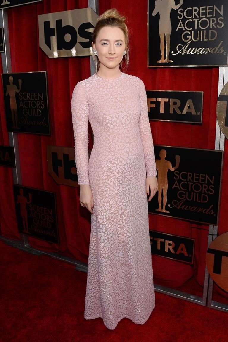 Djansezian, Kevork. Saoirse Ronan in Michael Kohrs. 2016. Web. 30 Jan. 2016. http://www.hollywoodreporter.com/news/saoirse-ronans-sag-awards-2016-860490.