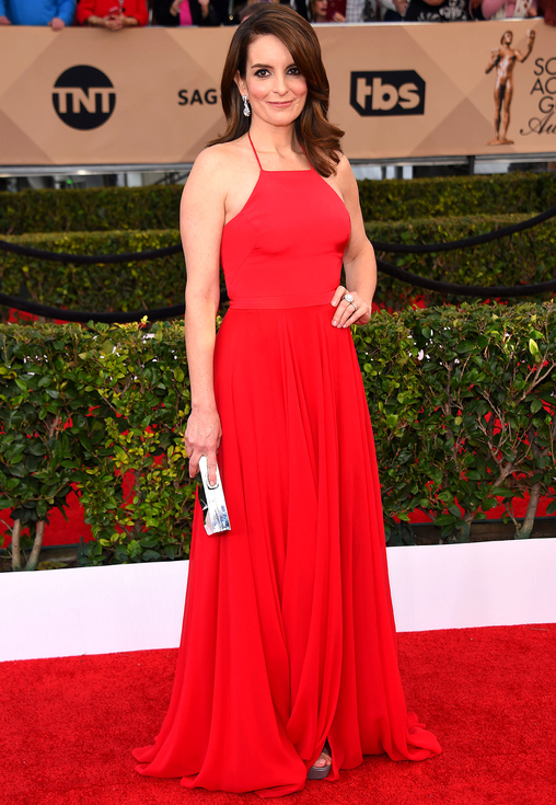 O'Connor-Arroyo/AFF. Tina Fey in Prabal Gurung. 2016. Web. 30 Jan. 2016. http://www.peoplestylewatch.com/sag-awards-2016-best-dressed#2016/01/30/photo/tina-fey-best-dressed-sag-gallery-3187091.