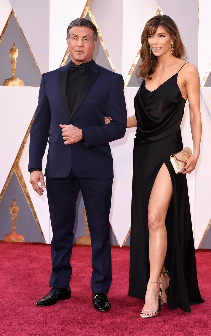 Fisher, David. Sylvester Stallone and Jennifer Flavin. 2016. Web. 28 Feb. 2016. http://www.theguardian.com/fashion/gallery/2016/feb/28/oscars-red-carpet-fashion-2016-in-pictures.