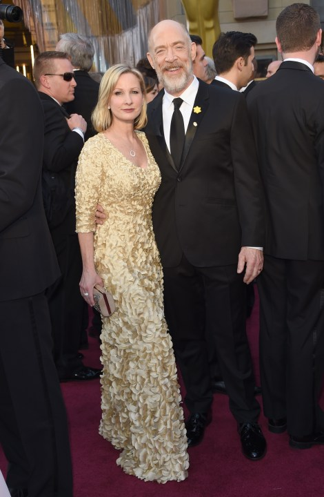 Shotwell, Richard. J.K. Simmons in Ted Baker and Michelle Schumacher. 2016. Web. 29 Feb. 2016. http://www.nytimes.com/slideshow/2016/02/28/fashion/2016-oscars-red-carpet-photos/s/oscars-red-carpet-1208-j-k-simmons-and-michelle-schumacher.html.