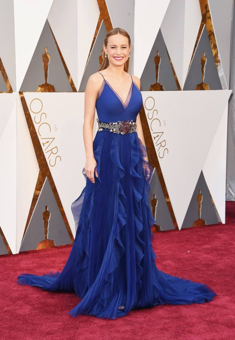 Merritt, Jason. Brie Larson in Gucci. 2016. Web. 28 Feb. 2016. http://www.usmagazine.com/celebrity-style/pictures/oscars-2016-red-carpet-fashion-what-the-stars-wore-w165056/brie-larson-w165560.