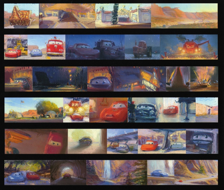 Cone, Bill. 2006. Web. 10 Feb. 2016. http://www.pixartalk.com/feature-films/cars/cars-the-art-of-cars/.