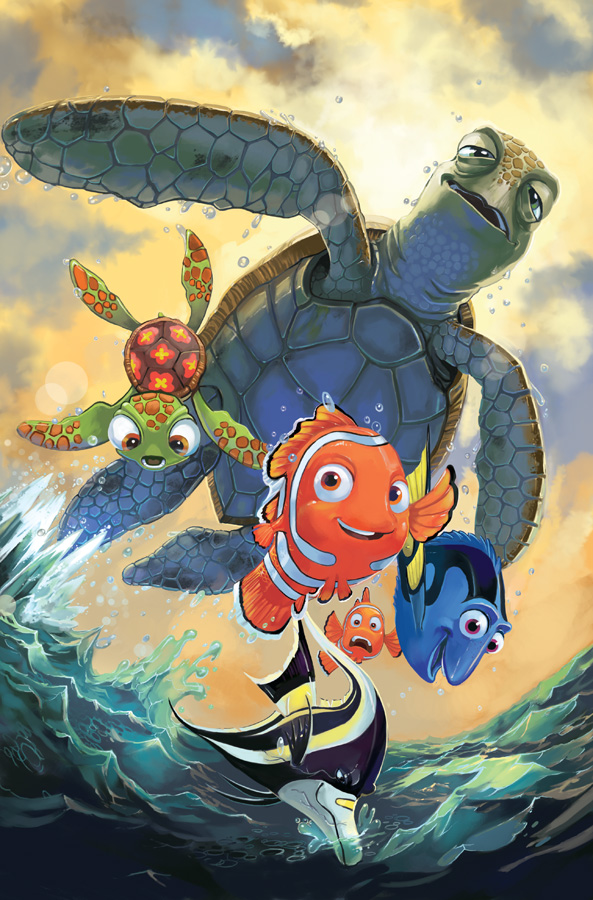 Myler, Jake. Finding Nemo Cover Issue 1. 2010. Web. 10 Feb. 2016. http://lazesummerstone.deviantart.com/art/Finding-Nemo-Cover-Issue-1-171999786.