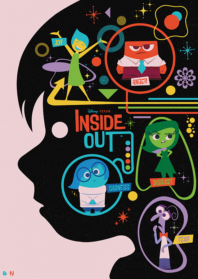 Needle, Matt. Disney Pixar Inside Out. 2015. Web. 10 Feb. 2016. http://www.mattneedle.co.uk/Disney-Pixar-Inside-Out.