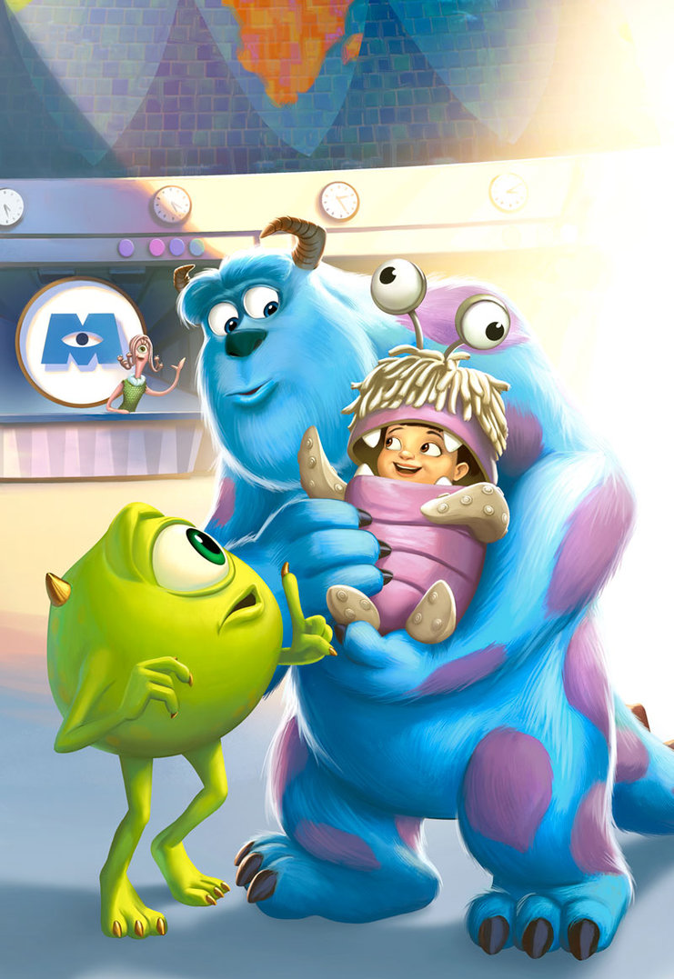 Roberts, Jeremy. MONSTERS Inc. 2013. Web. 9 Feb. 2016. http://jprart.deviantart.com/art/MONSTERS-Inc-385670717.