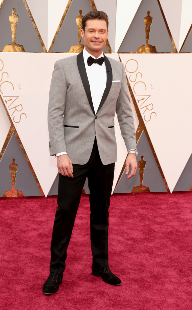 Williamson, Todd. Ryan Seacrest in Ryan Seacrest Distinction. 2016. Web. 28 Feb. 2016. http://www.eonline.com/photos/18308/oscars-2016-what-the-stars-wore/683777.