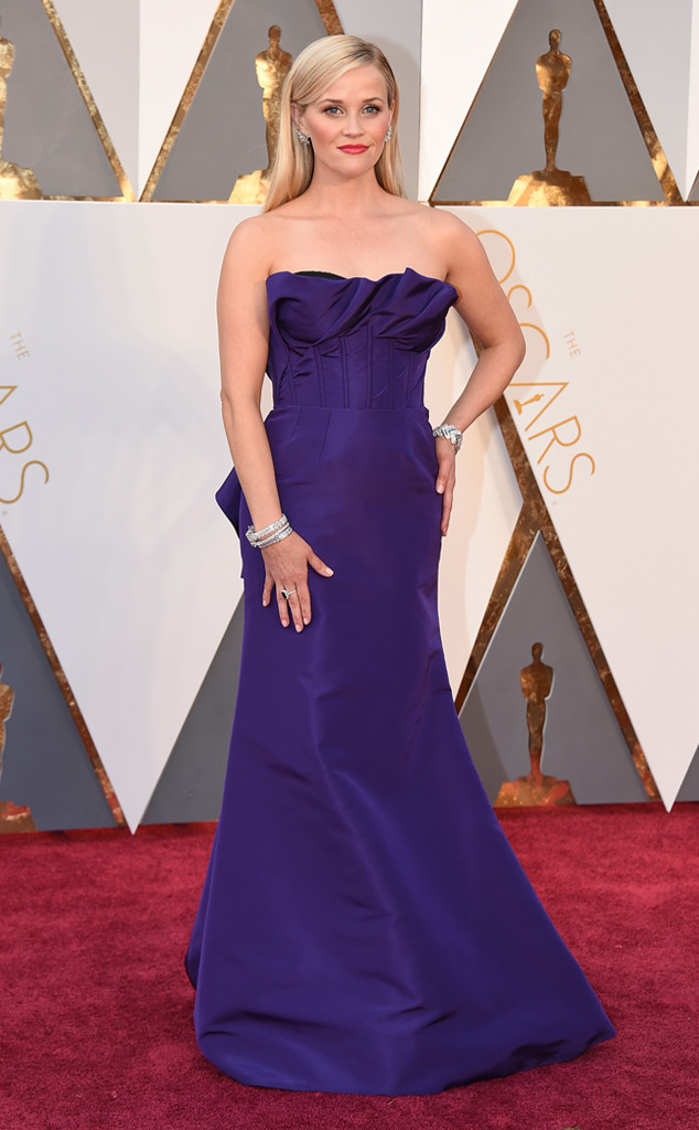 Strauss, Jordan. Reese Witherspoon in Oscar de la Renta. 2016. Web. 28 Feb. 2016. http://www.eonline.com/photos/18308/oscars-2016-what-the-stars-wore/684079.