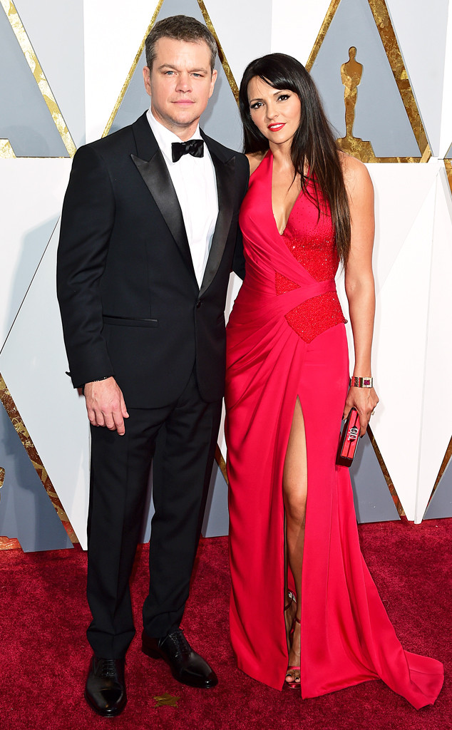 PA Images/Sipa USA. Matt Damon and Luciana Barroso. 2016. Web. 29 Feb. 2016. http://www.eonline.com/photos/18325/couples-at-the-2016-oscars/684225.