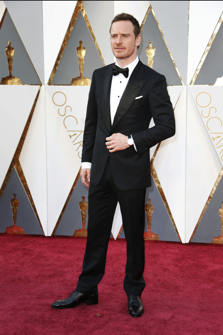 West, Noel. Michael Fassbender. 2016. Web. 29 Feb. 2016. http://www.nytimes.com/slideshow/2016/02/28/fashion/2016-oscars-red-carpet-photos/s/oscars-red-carpet-2116-michael-fassbender.html.