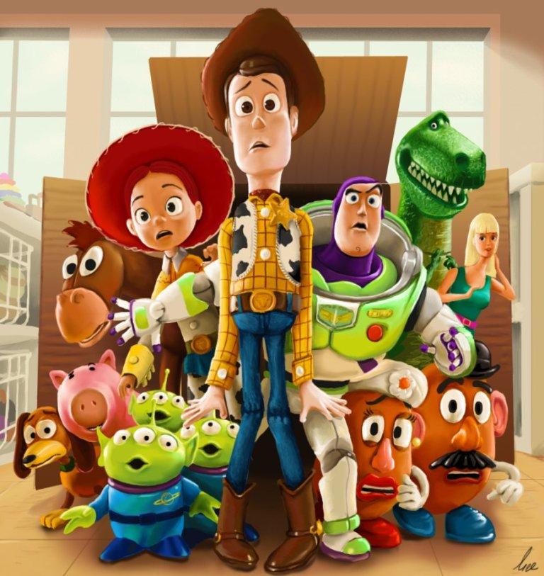 McAllister, Gary. Toy Story. 2011. Web. 9 Feb. 2016. http://xric.deviantart.com/art/Toy-Story-256419171.