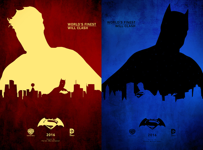 Moradi, Faran. Batman V Superman: Dawn of Justice - Minimalist Poster. Web. 25 Mar. 2016. http://www.faranmedia.com/graphics/recreational/7.html.