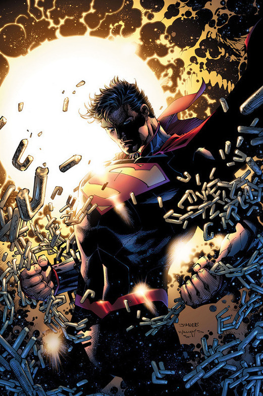 Lee, Jim, and Scott Williams. Superman Unchained #3 Cover. 2013. Web. 27 Mar. 2016. http://www.pastemagazine.com/articles/2014/01/the-24-best-comic-book-covers-of-2013.html.