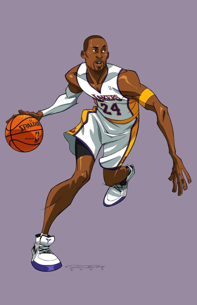 Randolph, Khary. ASV::Kobe Bryant. 2009. Web. 13 Apr. 2016. http://kharyrandolph.deviantart.com/art/ASV-Kobe-Bryant-120341382.