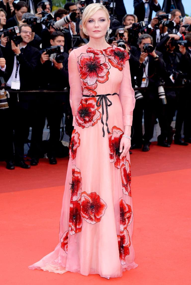 Charriau, Dominique. Kirsten Dunst in Gucci. 2016. Web. 15 May 2016. http://www.usmagazine.com/celebrity-style/pictures/cannes-film-festival-2016-red-carpet-fashion-what-the-stars-wore-w206058/kirsten-dunst-w206080.