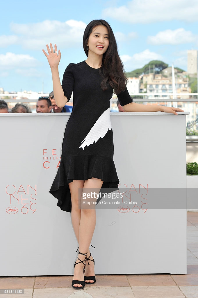 Cardinale, Stephane. Kim Tae-Ri. 2016. Web. 23 May 2016. http://www.gettyimages.com/detail/news-photo/actress-kim-tae-ri-attends-the-handmaiden-photocall-during-news-photo/531341180.