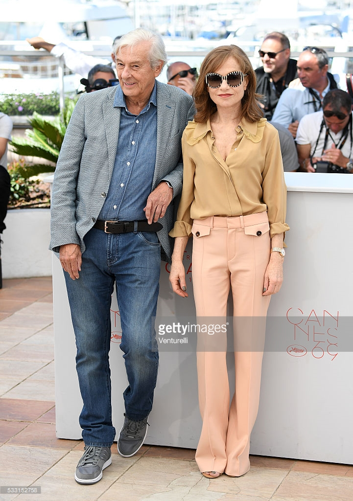 Venturelli. Isabelle Huppert in Chloé. 2016. Web. 24 May 2016. http://www.gettyimages.com/pictures/director-paul-verhoeven-and-isabelle-huppert-attend-the-news-photo-533152758#director-paul-verhoeven-and-isabelle-huppert-attend-the-elle-during-picture-id533152758.