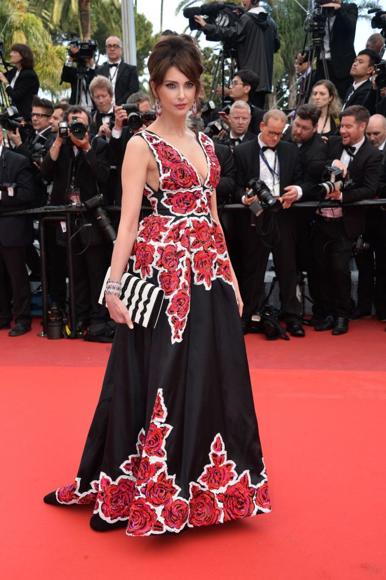 Frederique Bel in Zuhair Murad. 2016. Web. 16 May 2016. http://celebmafia.com/frederique-bel-cafe-society-premiere-opening-night-gala-2016-cannes-film-festival-531188/.