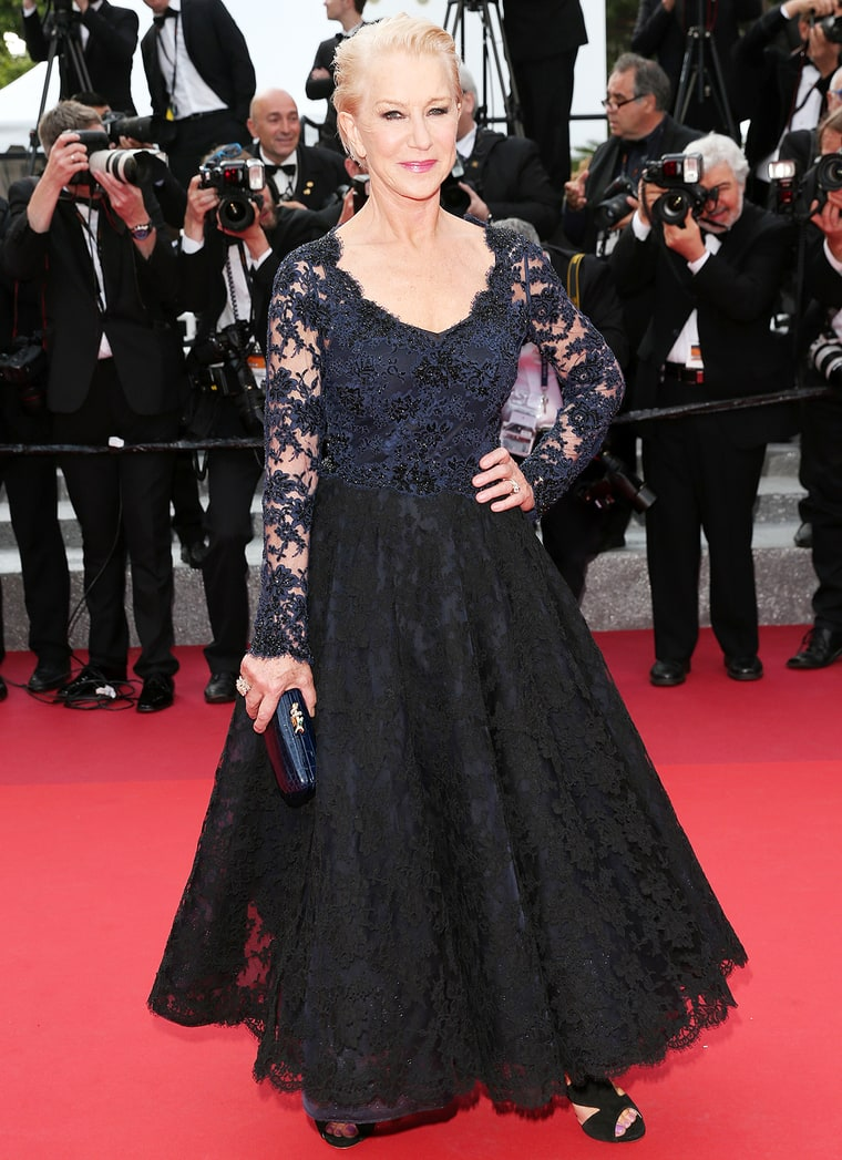 Schober, Gisela. Helen Mirren in Bruce Oldfield. 2016. Web. 21 May 2016. http://www.usmagazine.com/celebrity-style/news/helen-mirren-explains-cannes-2016-red-carpet-fall-w207227.